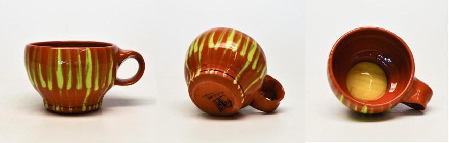 Blog Portfolio- Mug Green Stripes
