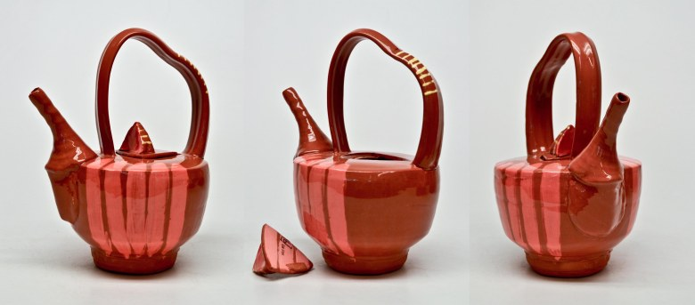 Blog Portfolio- red teapot 3 sides