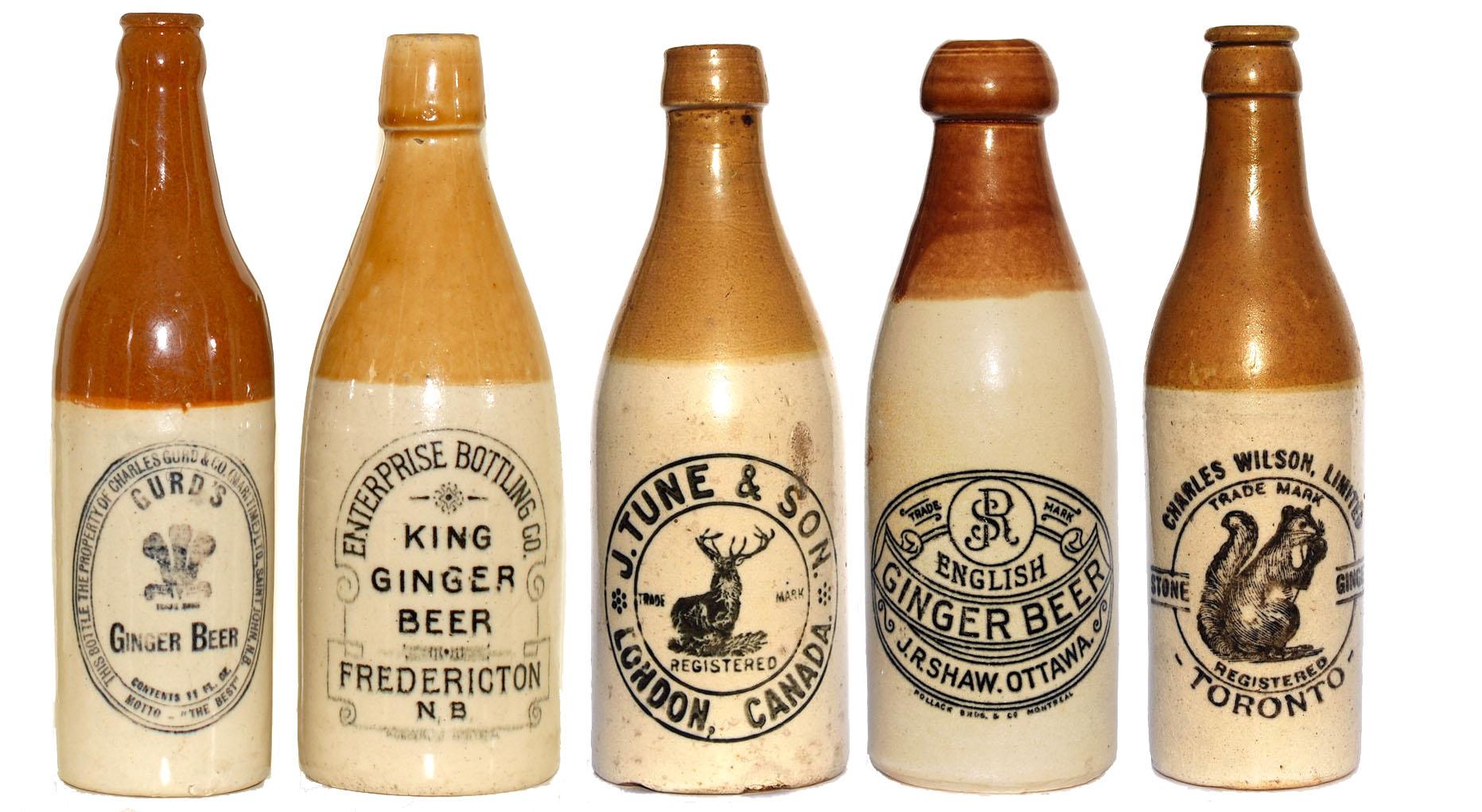 Porn Pot Ginger Beer Bottles  B Practical Pottery-7624