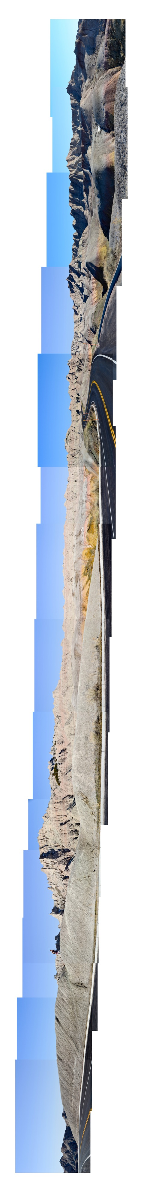 Badland montage 30-300, sideways