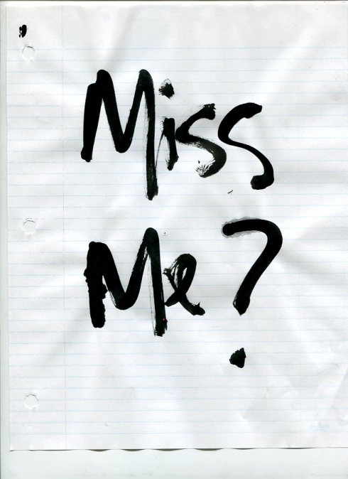 SCAN037, Miss Me?