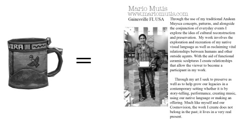 14, Mario Mutis, Mug Library Insert, WEB