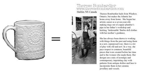17, Therese Bombardier, Mug Library Insert, WEB