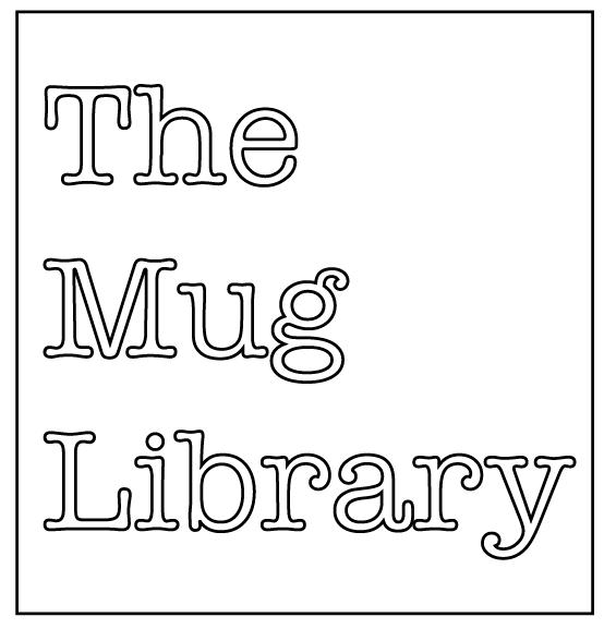 The Mug Library- white