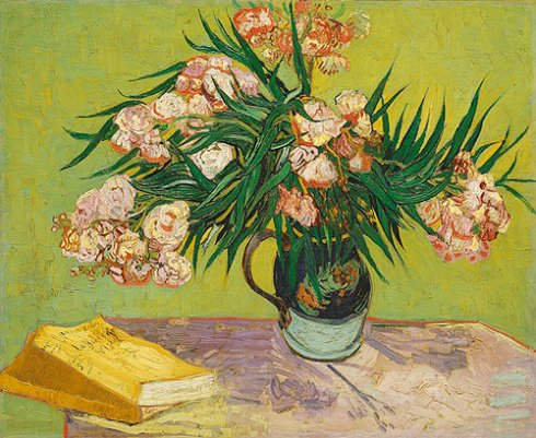 Oleanders, 1988, Vincent Van Gogh