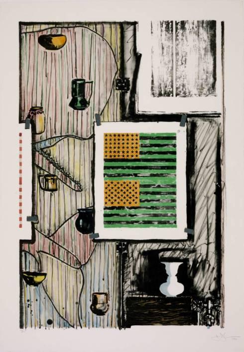 Ventriloquist 1986 by Jasper Johns born 1930